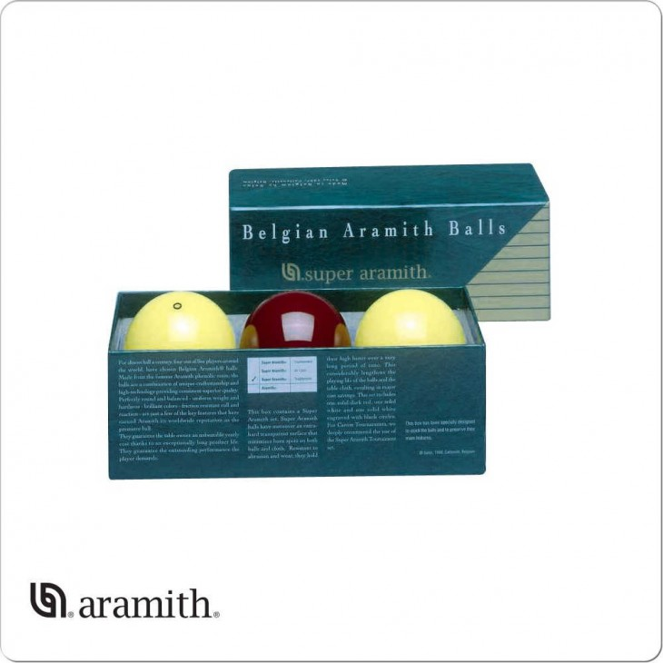 Bilie Set Carambola Super Aramith 61,5 mm.
