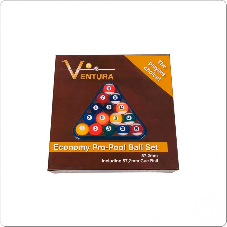 Bilie Set Pool  Ventura Eco 57,2 mm.